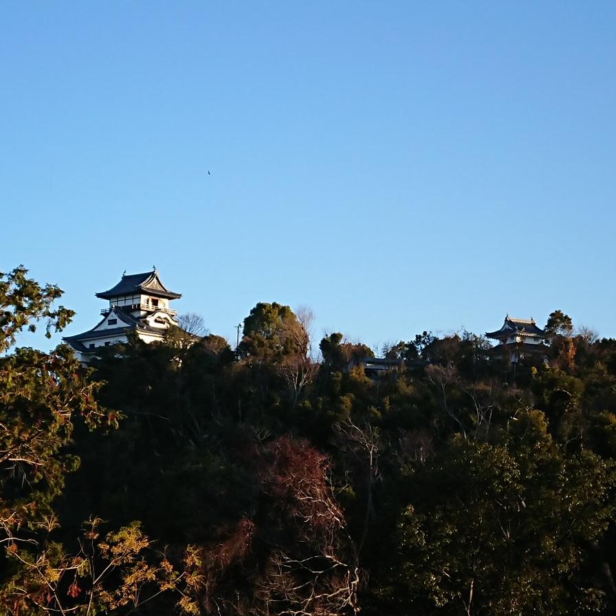 今日の犬山城は…『サンタはやってきたかい?🎅』