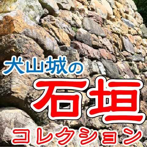 【犬山城の石垣コレクション】犬山城の石垣を眺めてみたら、色んな積み方があっておもしろかった!