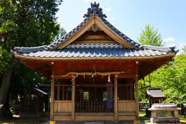 犬山神社の本殿