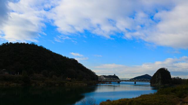 名勝木曽川
