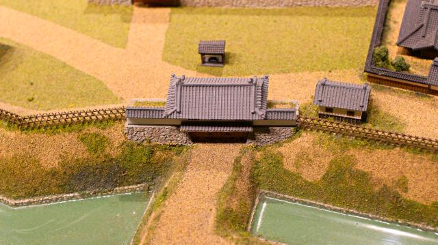 城とまちミュージアムのジオラマ