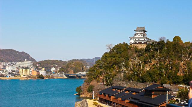 犬山城はライン大橋からの景色が最高