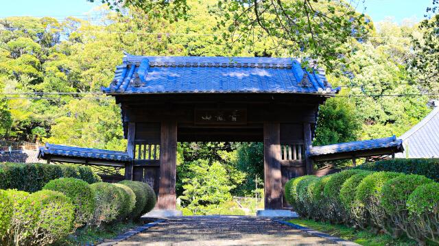 犬山城の内田門と言われている瑞泉寺山門