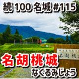 名胡桃城(なぐるみじょう)#115『段丘上に細長く配置された真田の城』