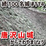 唐沢山城(からさわやまじょう)#114『戦国時代を生き抜いた、関東の城では珍しい高石垣のある山城』