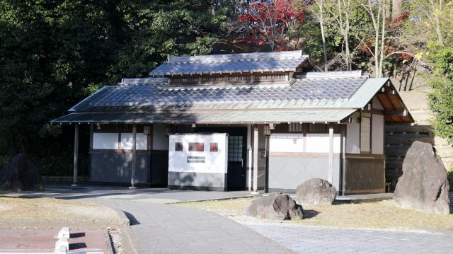 犬山城第1駐車場にあるトイレ