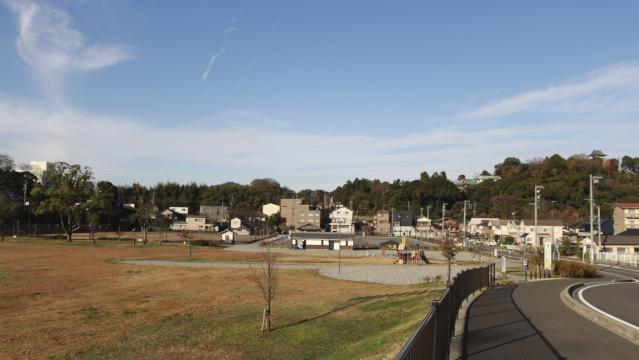 犬山城第2駐車場横の内田防災公園