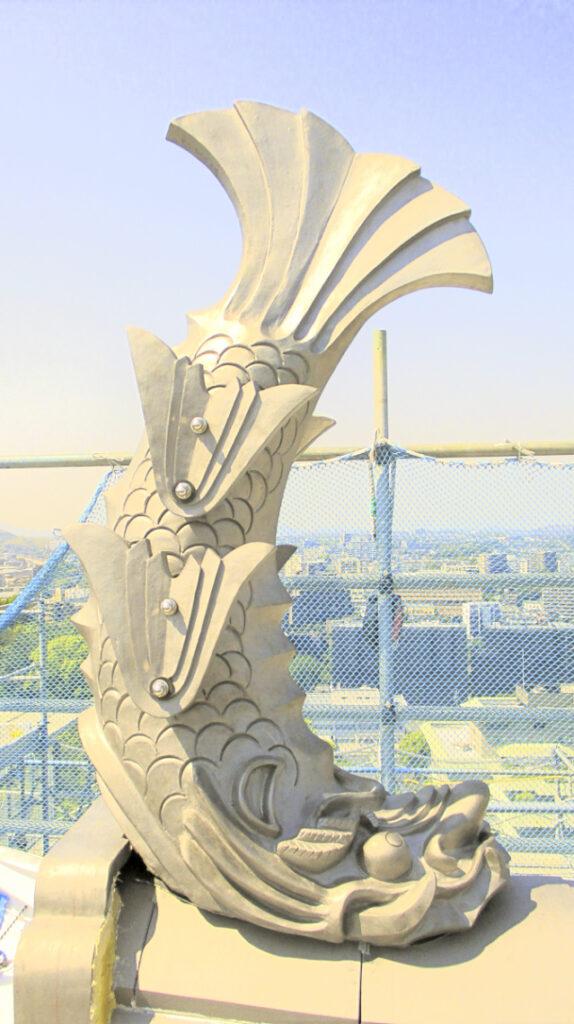 熊本城のしゃちほこ