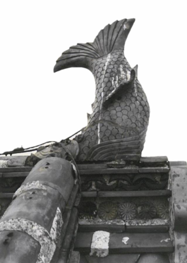 丸亀城のしゃちほこ