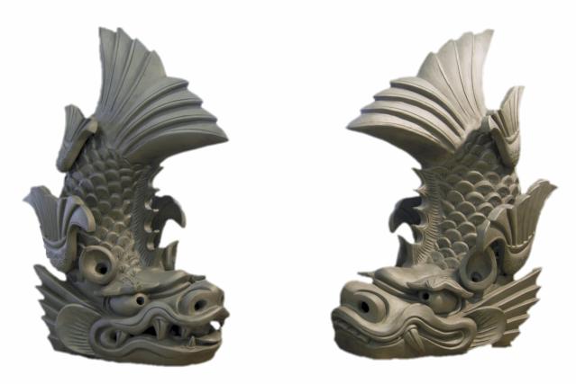 松山城のしゃちほこ