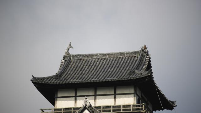 犬山城のしゃちほこ