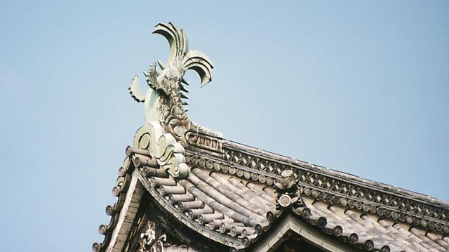 松江城のしゃちほこ