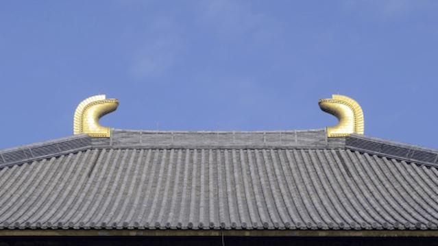 東大寺大仏殿の鴟尾(しび)