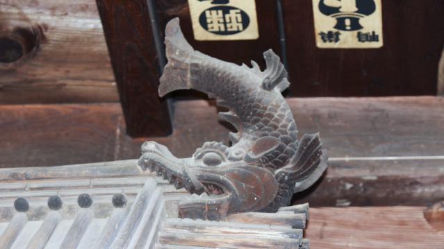 大法寺のしゃちほこ