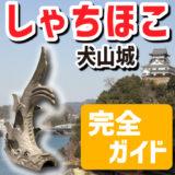 犬山城の「しゃちほこ」がよくわかる完全ガイド