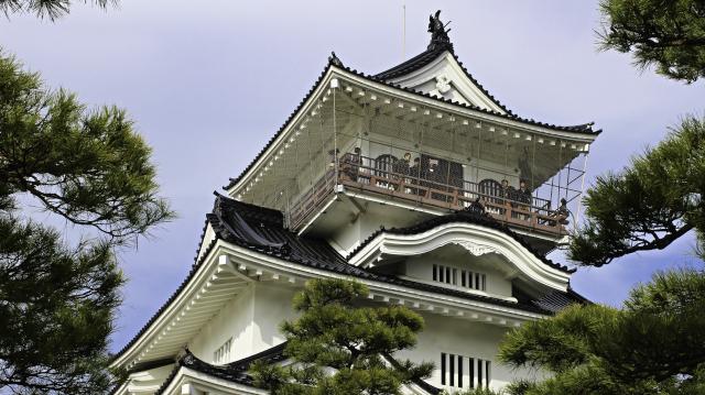 富山城模擬天守