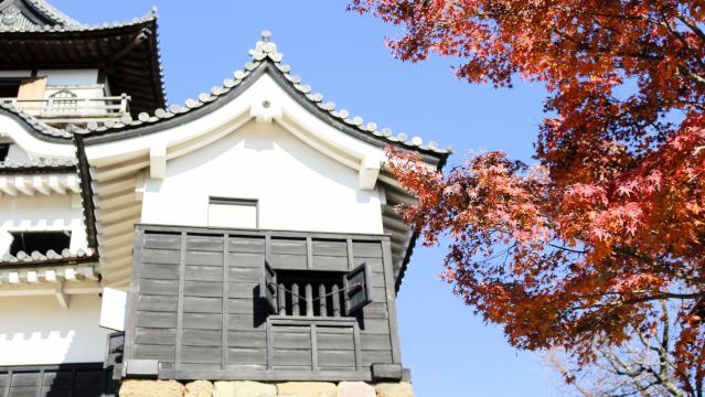 犬山城天守の付櫓の破風と懸魚
