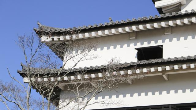犬山城天守の2階部分アップ