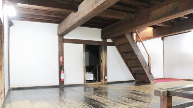 犬山城天守の3階