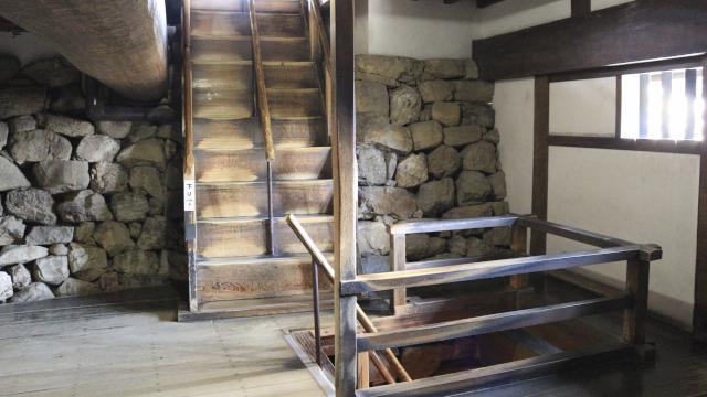 犬山城天守の地下
