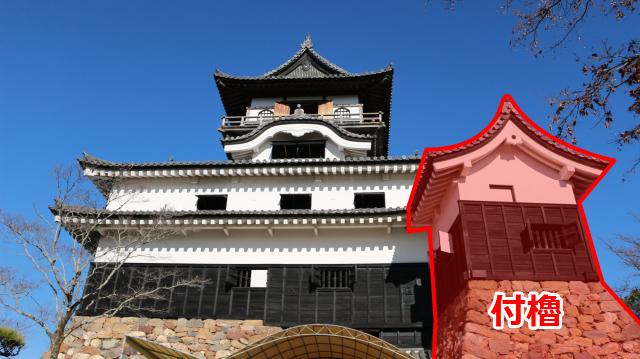 犬山城天守の付櫓