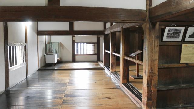 犬山城天守1階内部の画