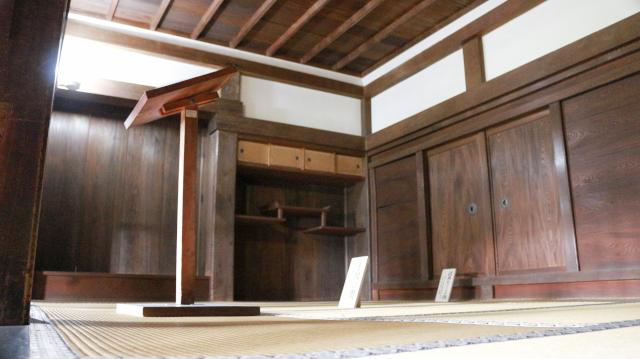 犬山城天守1階上段の間・書院造