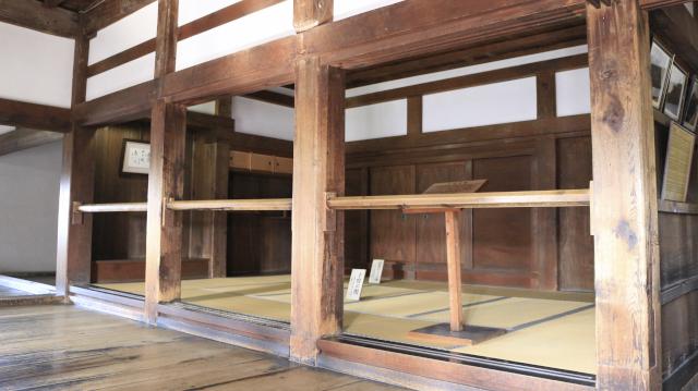 犬山城天守1階上段の間