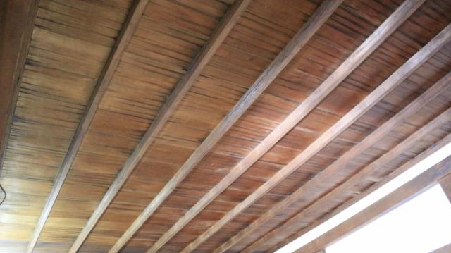 犬山城天守1階上段の間の竿縁天井