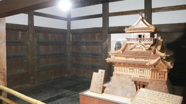 犬山城天守1階第二の間全体