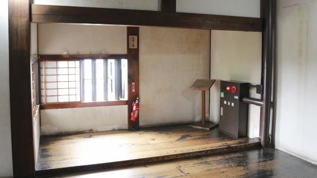 犬山城天守・西北付櫓内部