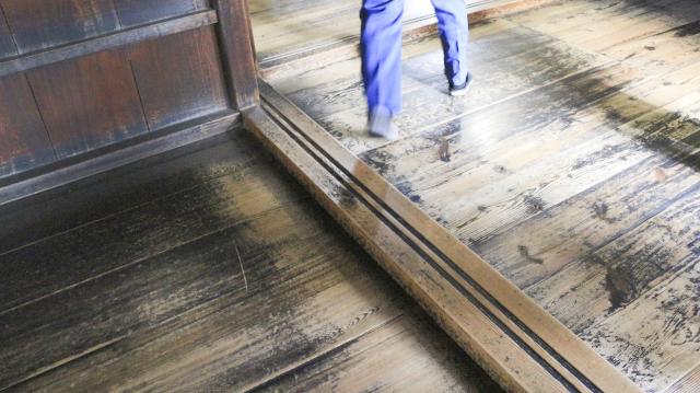 犬山城天守1階の敷居