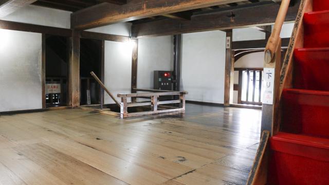 犬山城天守3階