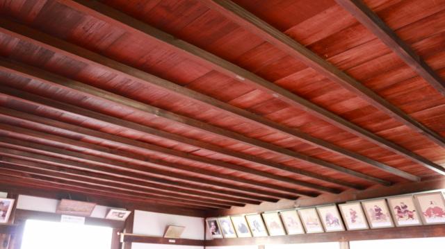 犬山城天守4階天井