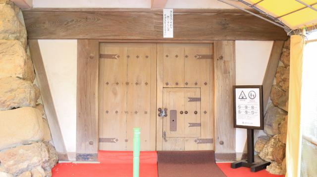 犬山城天守地下2階の扉
