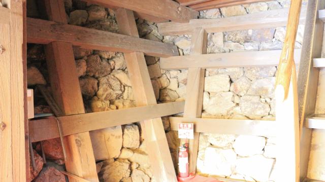 犬山城天守地下2階内部