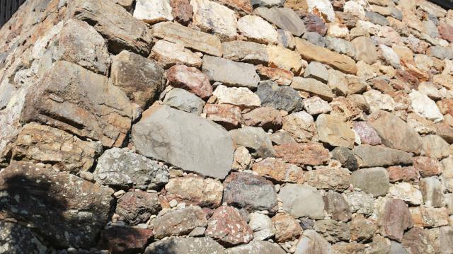 犬山城の天守台石垣